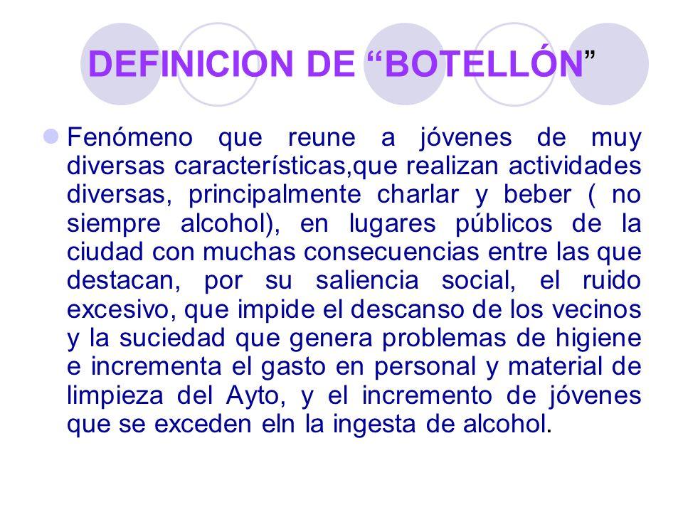 DEFINICION DE BOTELLÓN