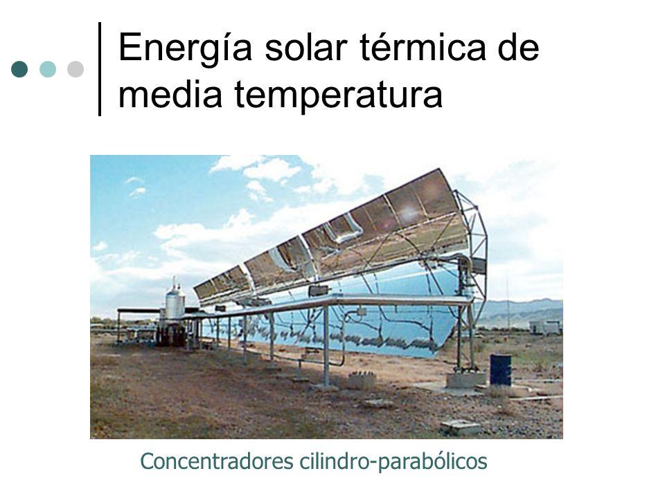 Energía solar térmica de media temperatura