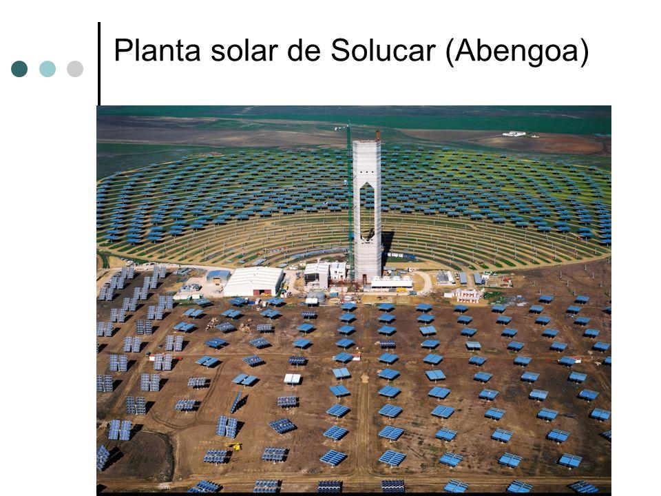 Planta solar de Solucar (Abengoa)
