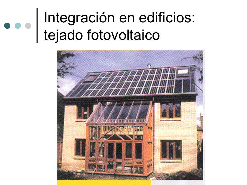 Integración en edificios: tejado fotovoltaico