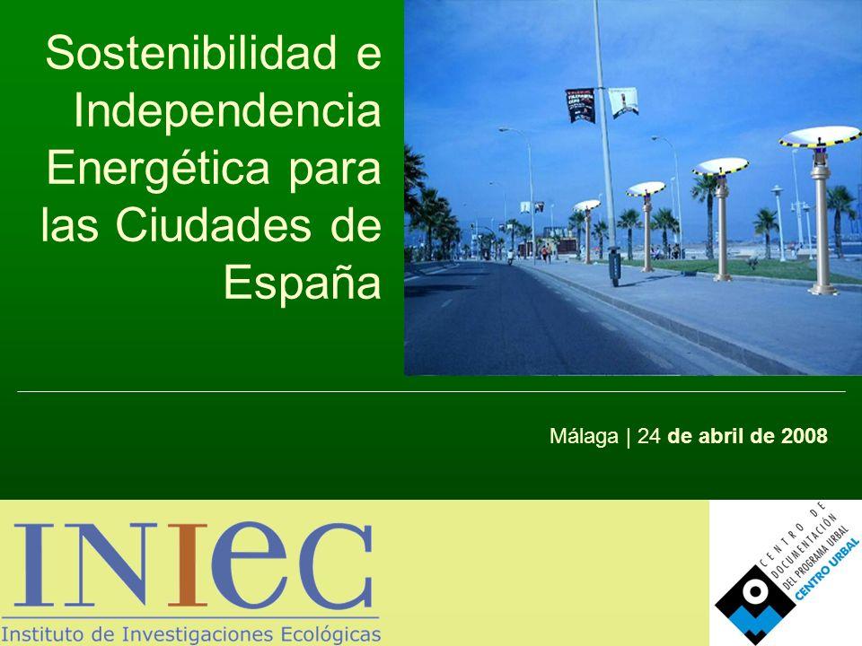 Sostenibilidad e Independencia Energética para las Ciudades de