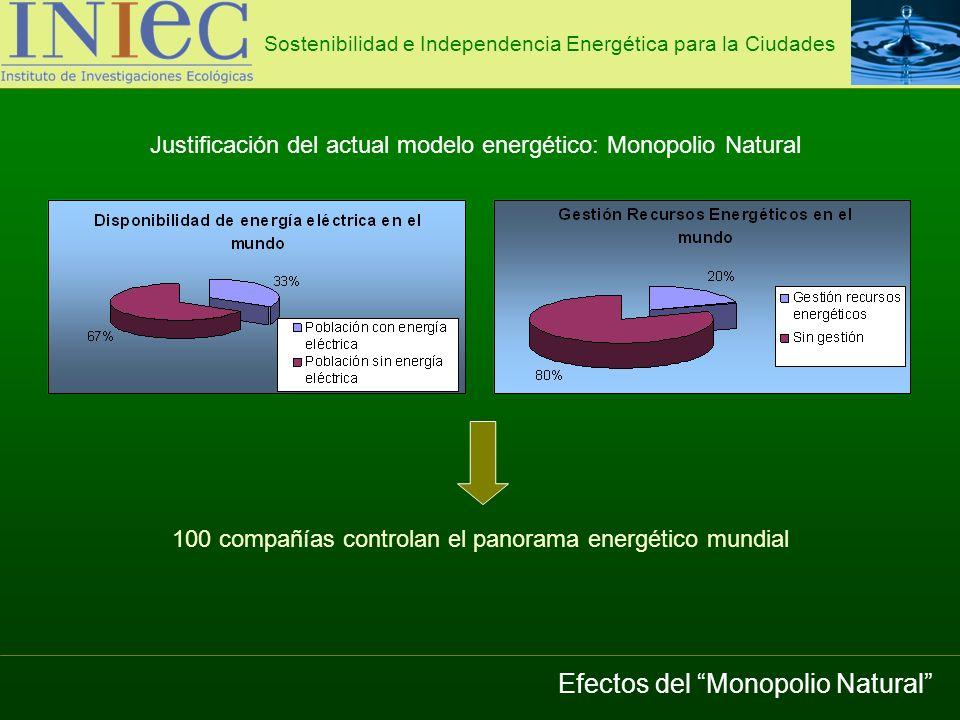 Efectos del Monopolio Natural