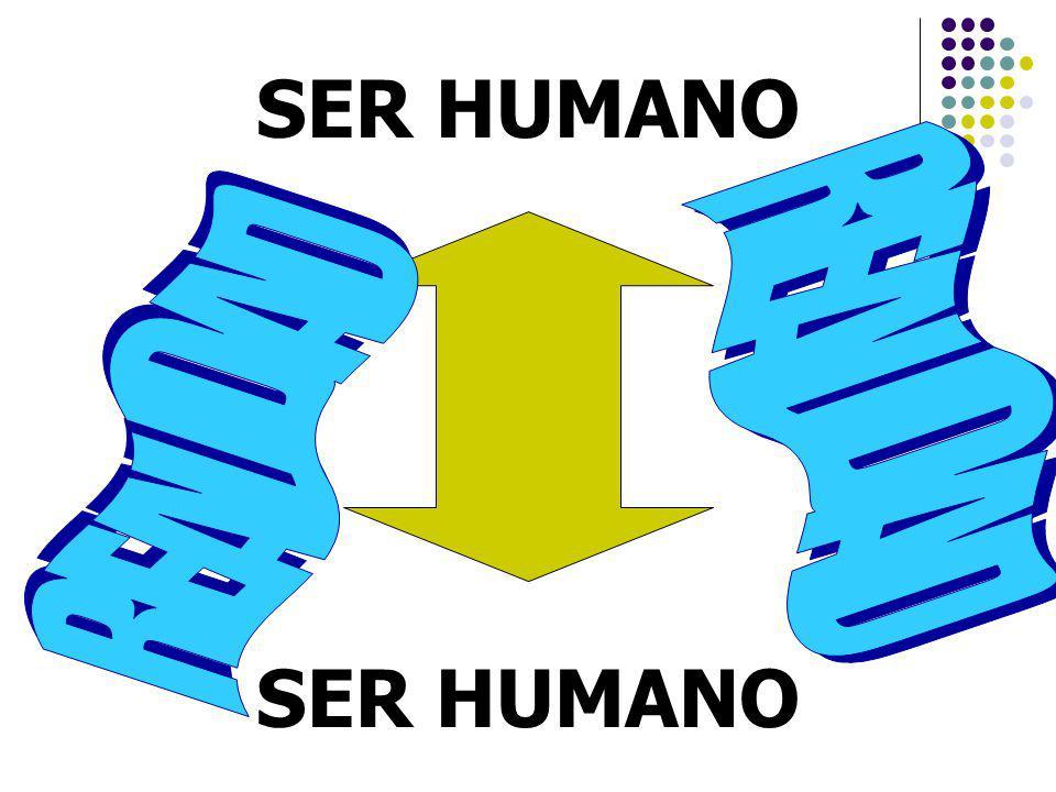 SER HUMANO REALIDAD REALIDAD SER HUMANO