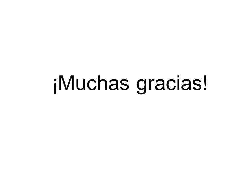 ¡Muchas gracias! 84