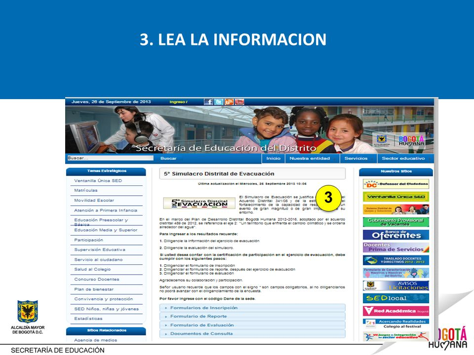 3. LEA LA INFORMACION 3