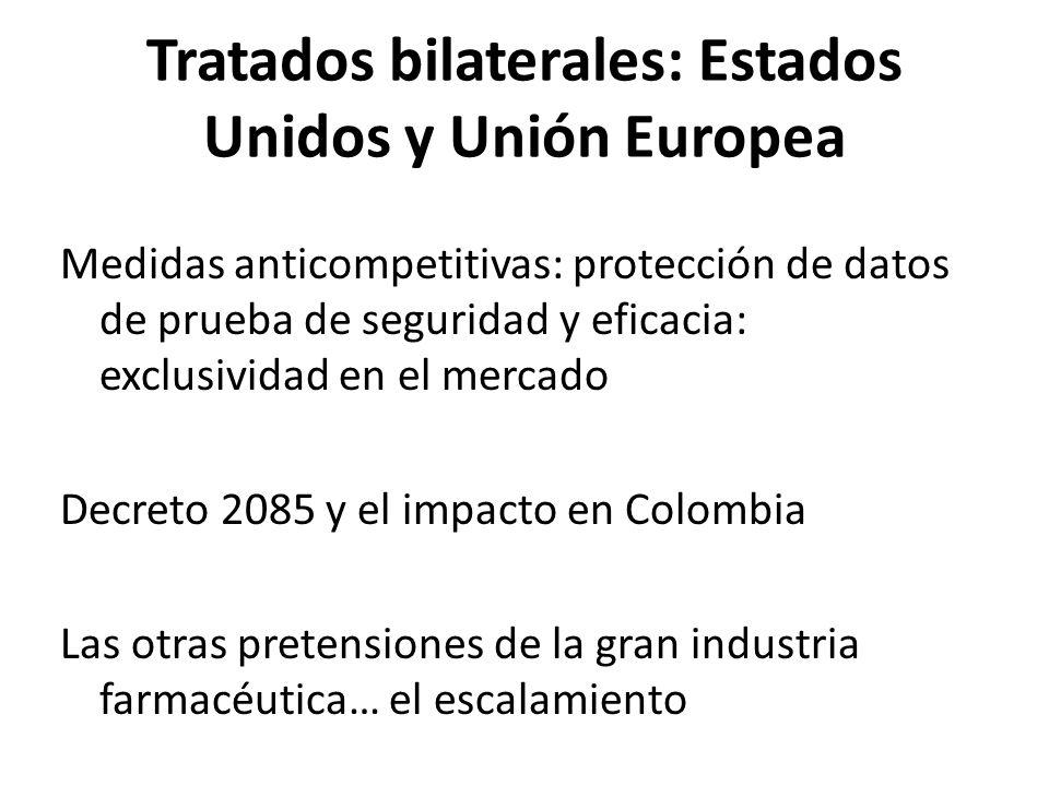 Tratados bilaterales: Estados Unidos y Unión Europea