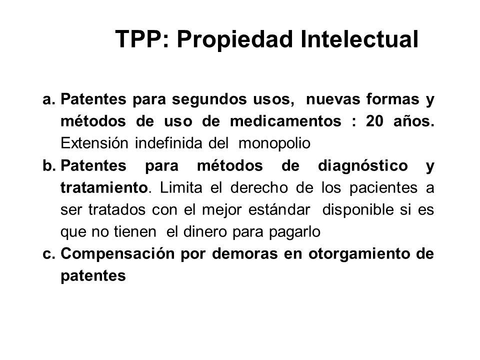 TPP: Propiedad Intelectual