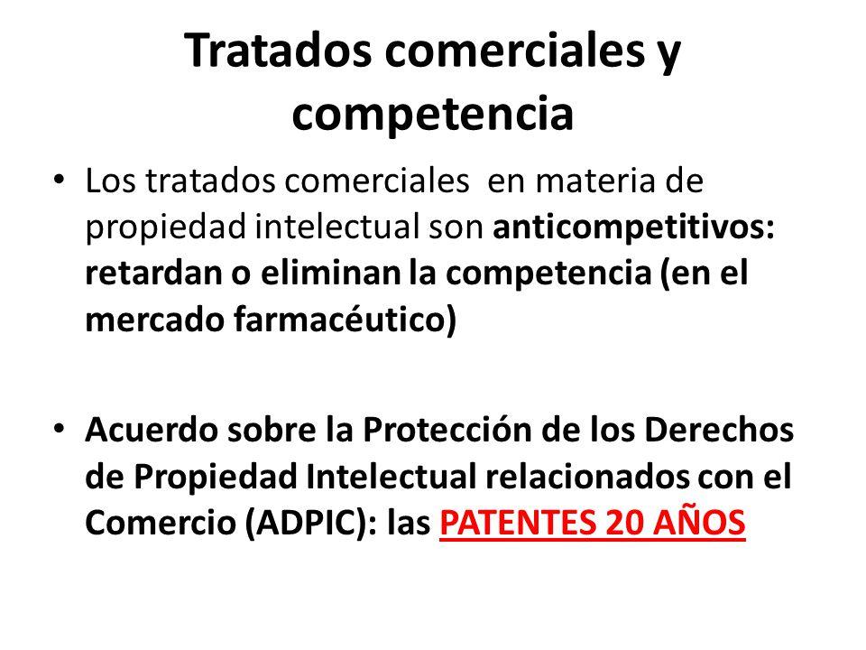 Tratados comerciales y competencia