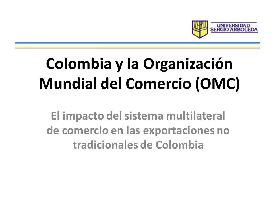Colombia y la Organización Mundial del Comercio (OMC)