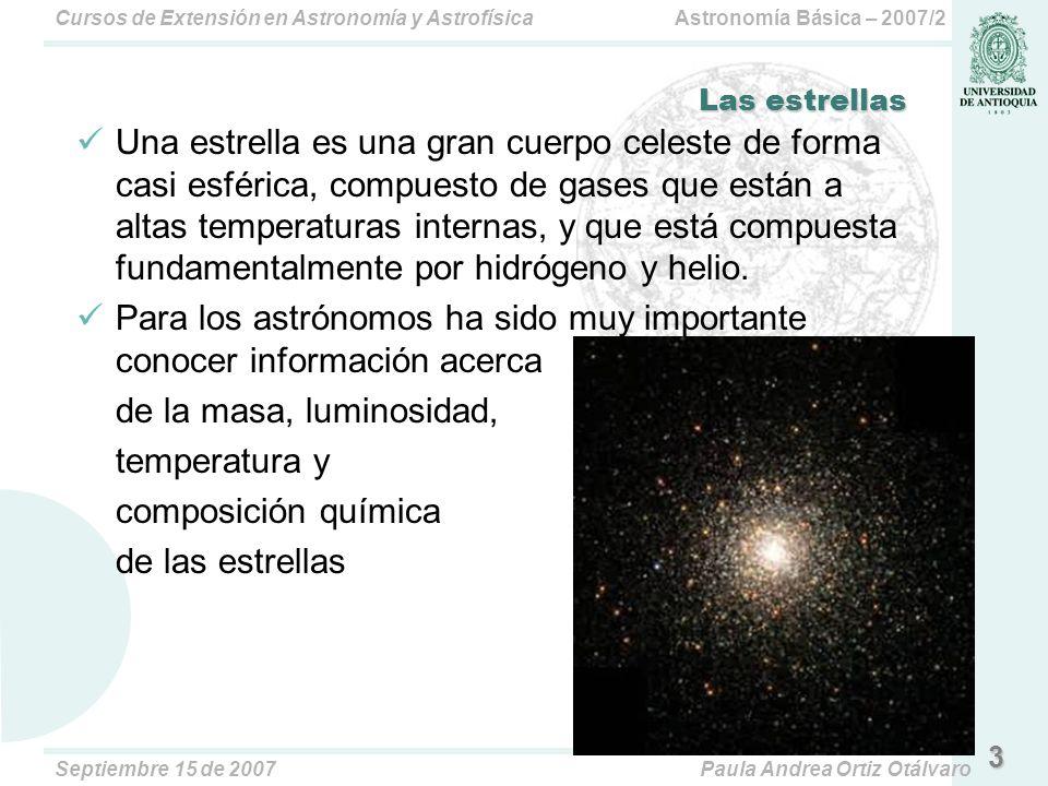 Para los astrónomos ha sido muy importante conocer información acerca