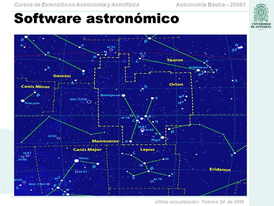 Software astronómico