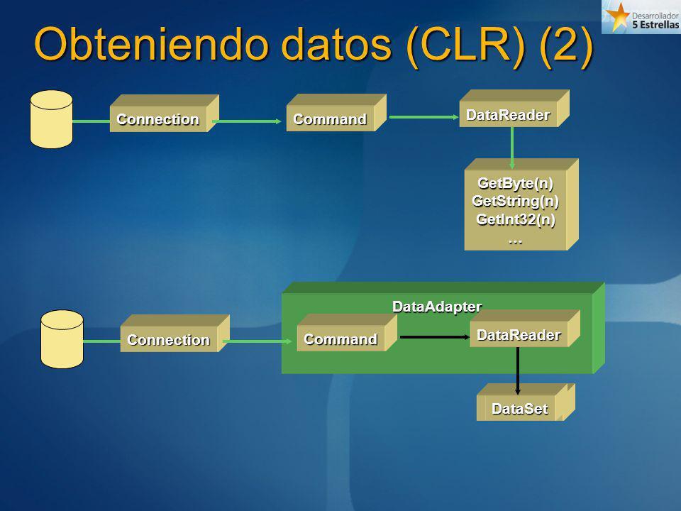 Obteniendo datos (CLR) (2)