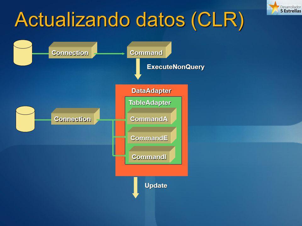 Actualizando datos (CLR)