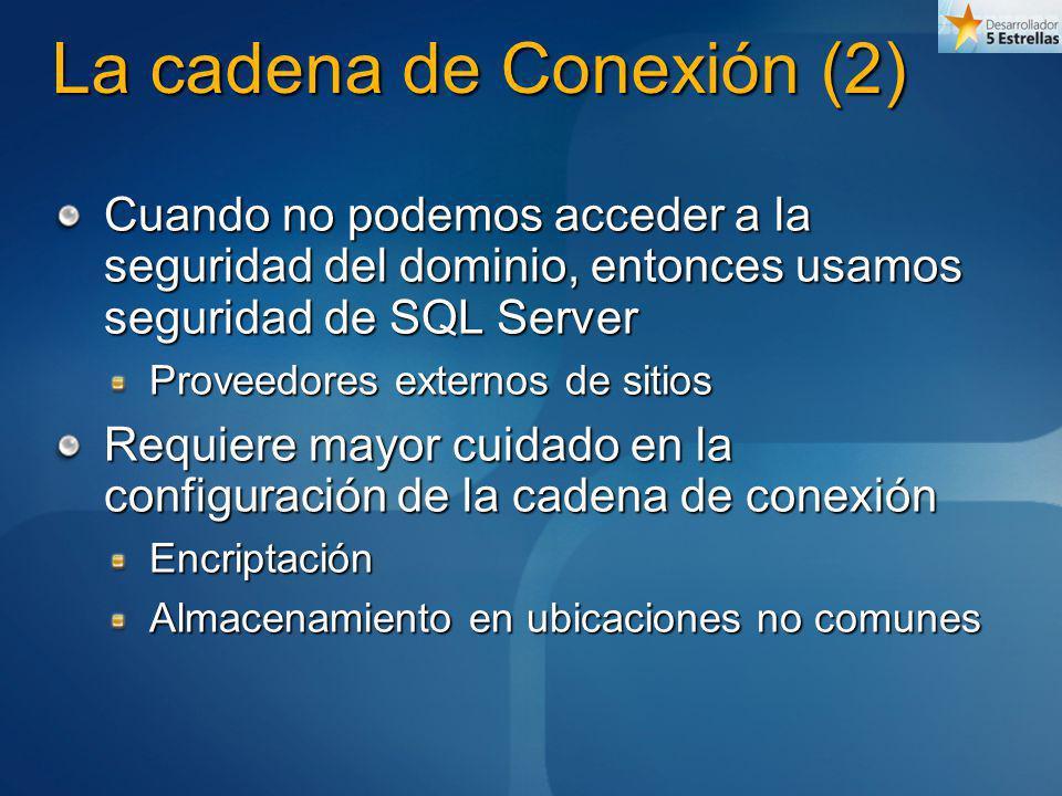 La cadena de Conexión (2)