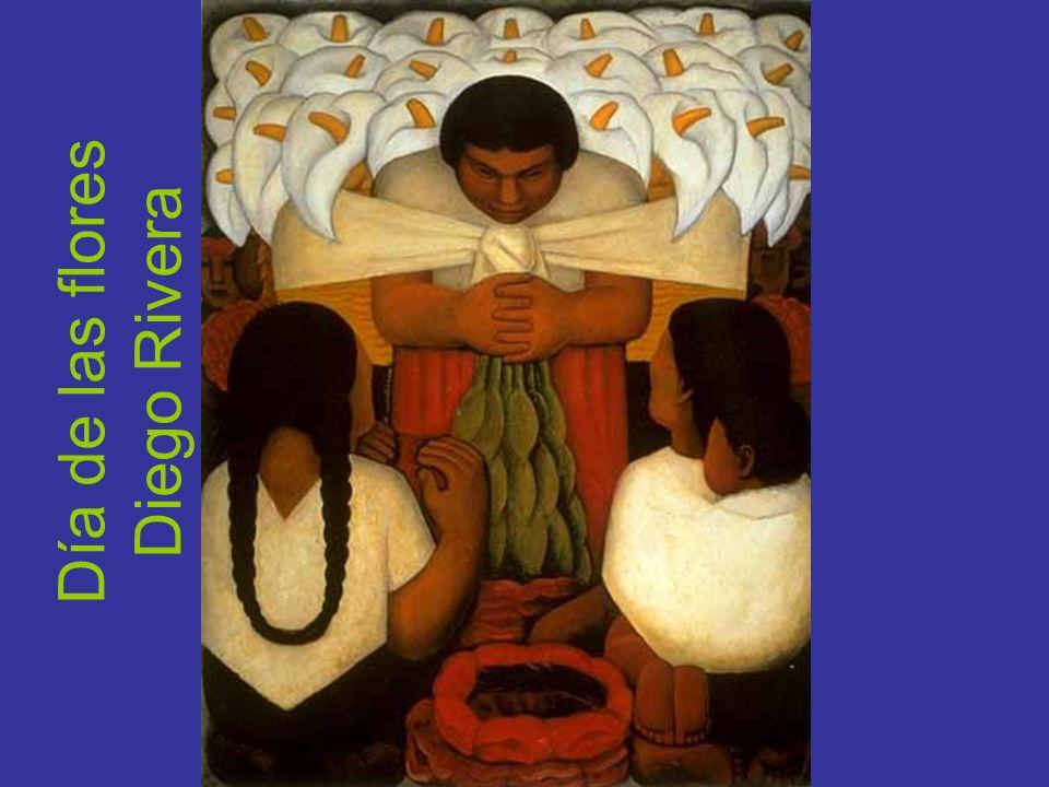 Día de las flores Diego Rivera