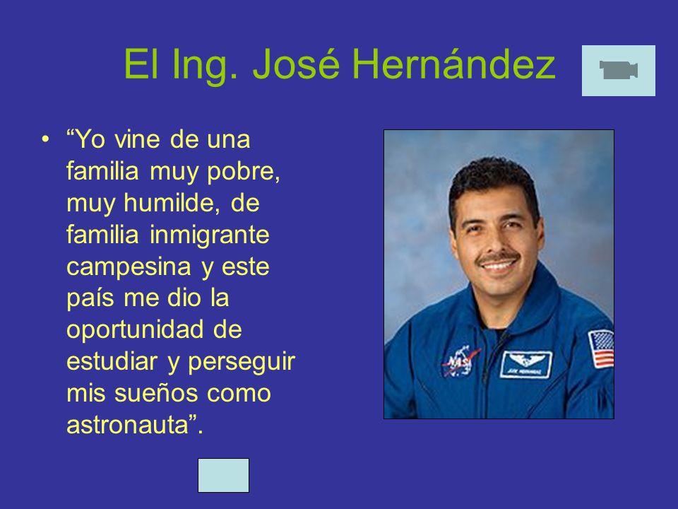 El Ing. José Hernández