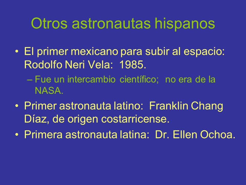 Otros astronautas hispanos