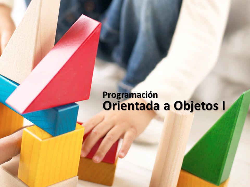Programación Orientada a Objetos I