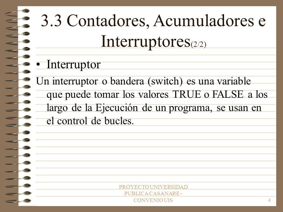 3.3 Contadores, Acumuladores e Interruptores(2/2)