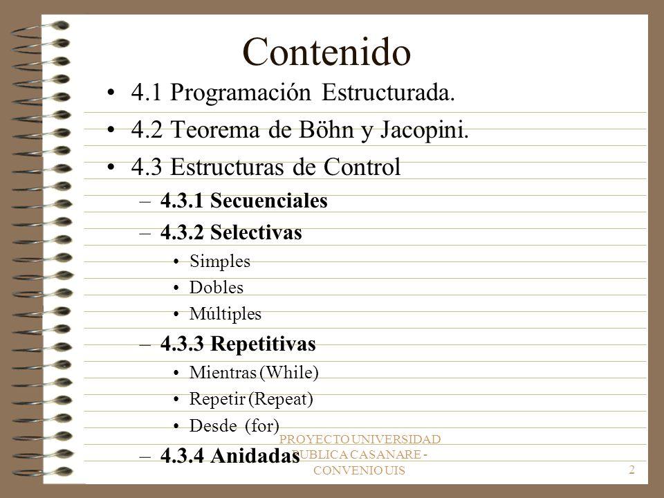PROYECTO UNIVERSIDAD PUBLICA CASANARE - CONVENIO UIS