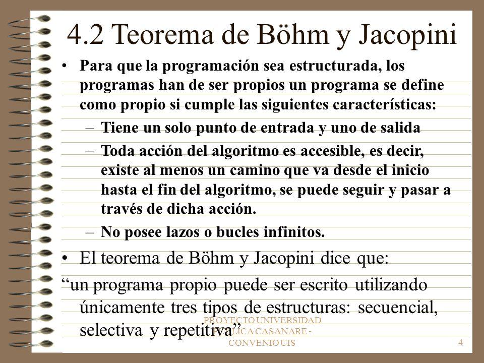 4.2 Teorema de Böhm y Jacopini