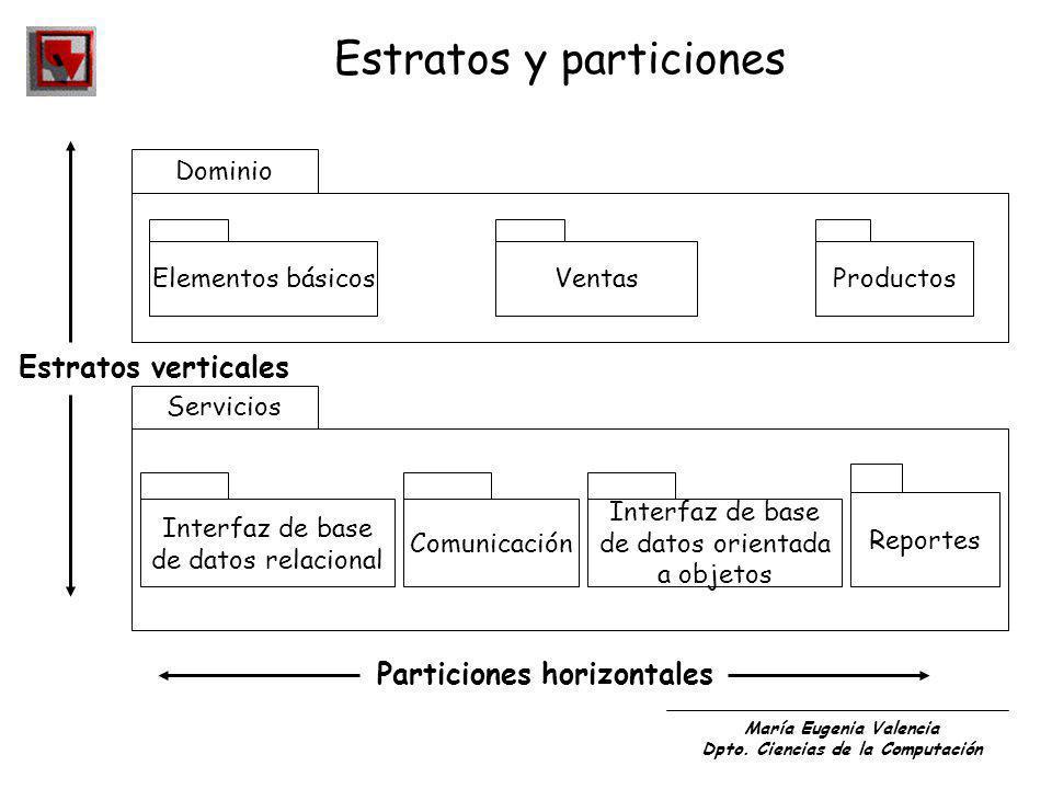 Estratos y particiones