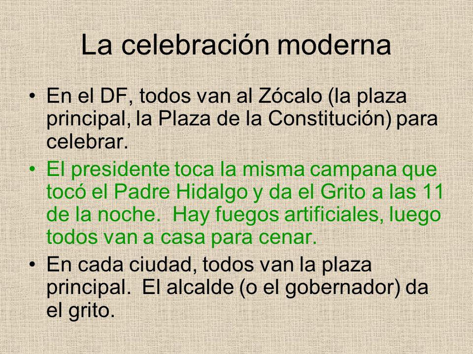 La celebración moderna