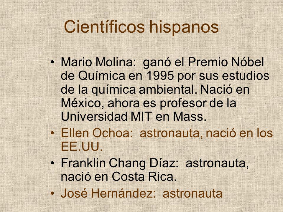 Científicos hispanos