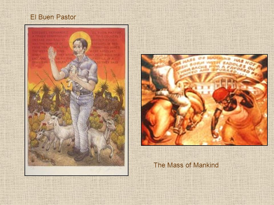El Buen Pastor The Mass of Mankind