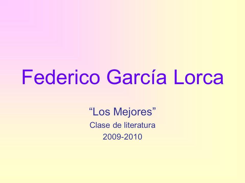 Los Mejores Clase de literatura 2009-2010