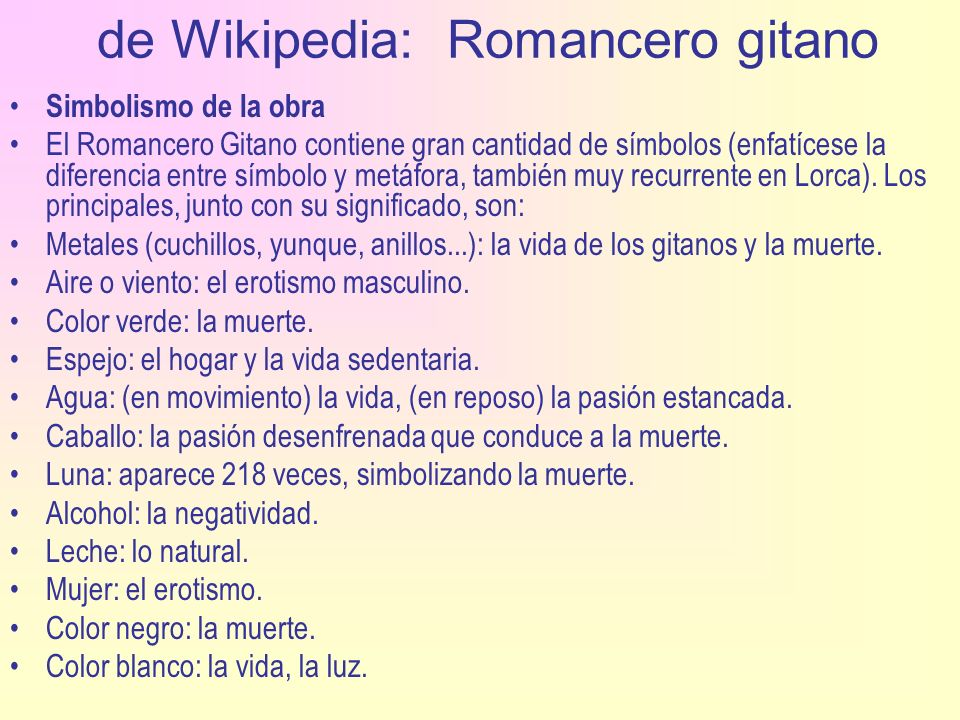 de Wikipedia: Romancero gitano