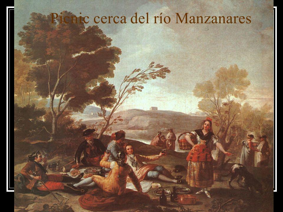 Picnic cerca del río Manzanares