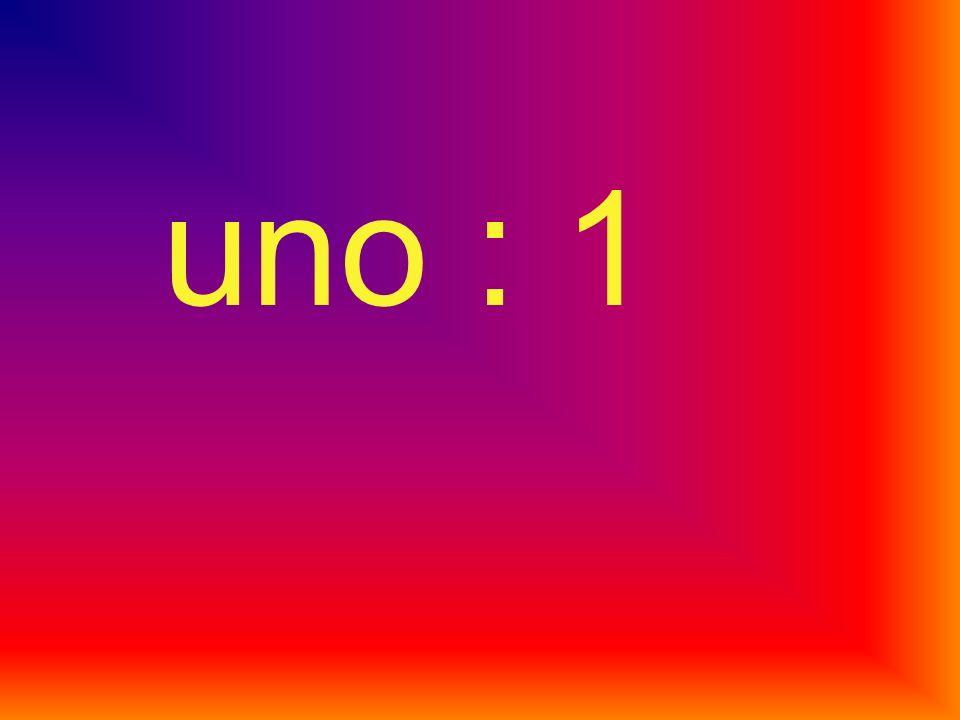 uno : 1