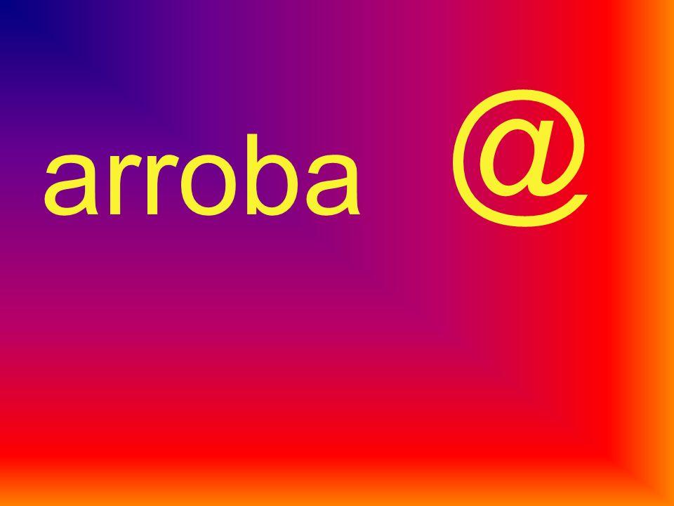 @ arroba