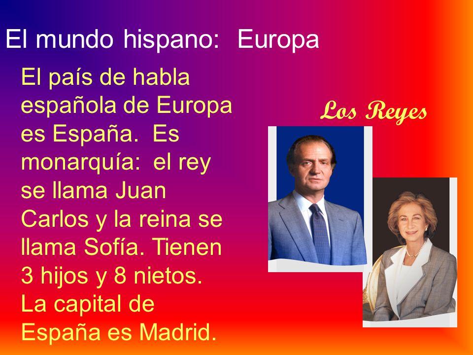 El mundo hispano: Europa
