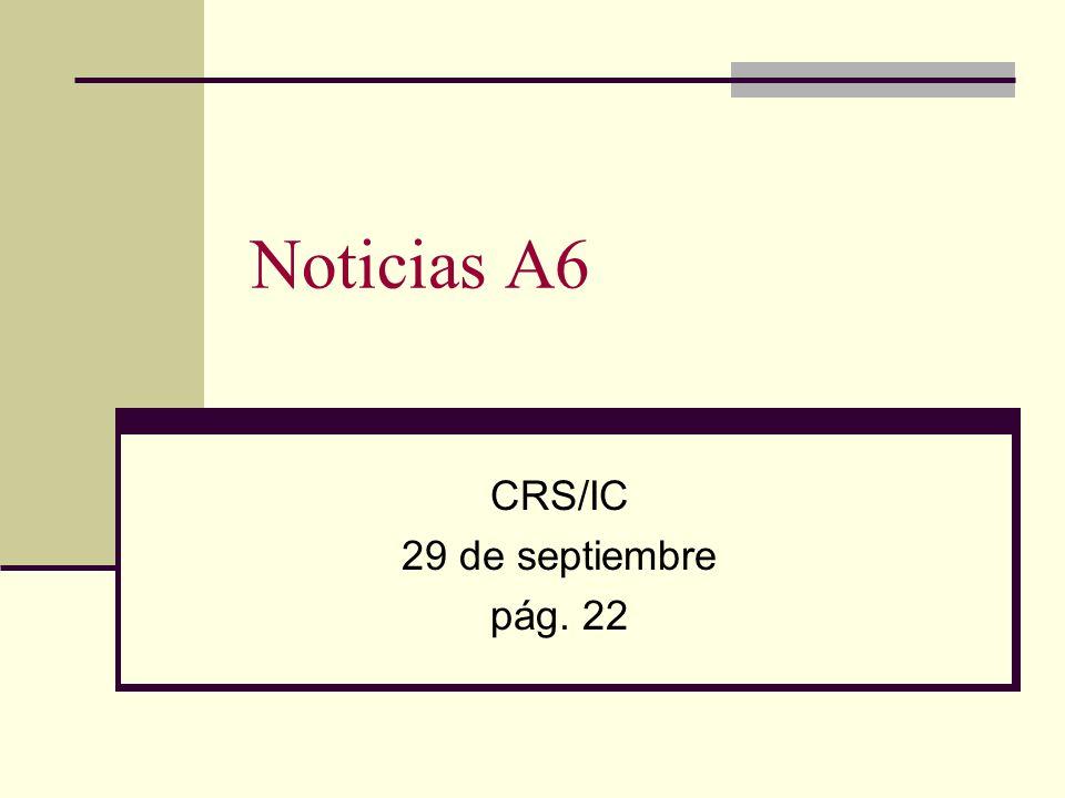 CRS/IC 29 de septiembre pág. 22
