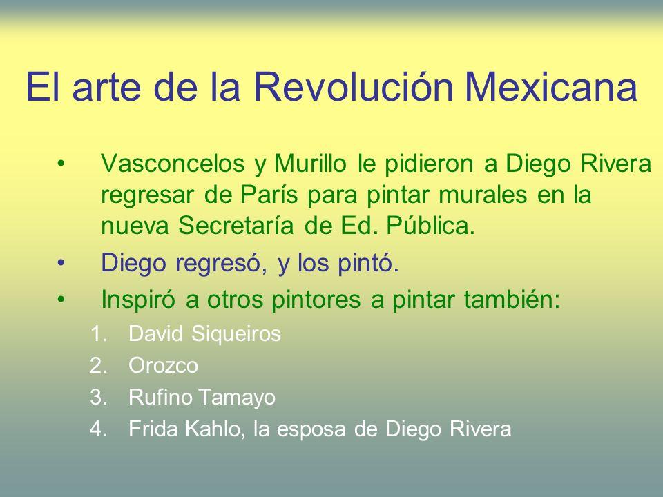 El arte de la Revolución Mexicana