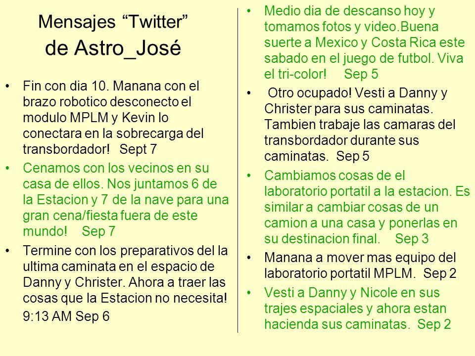 Mensajes Twitter de Astro_José