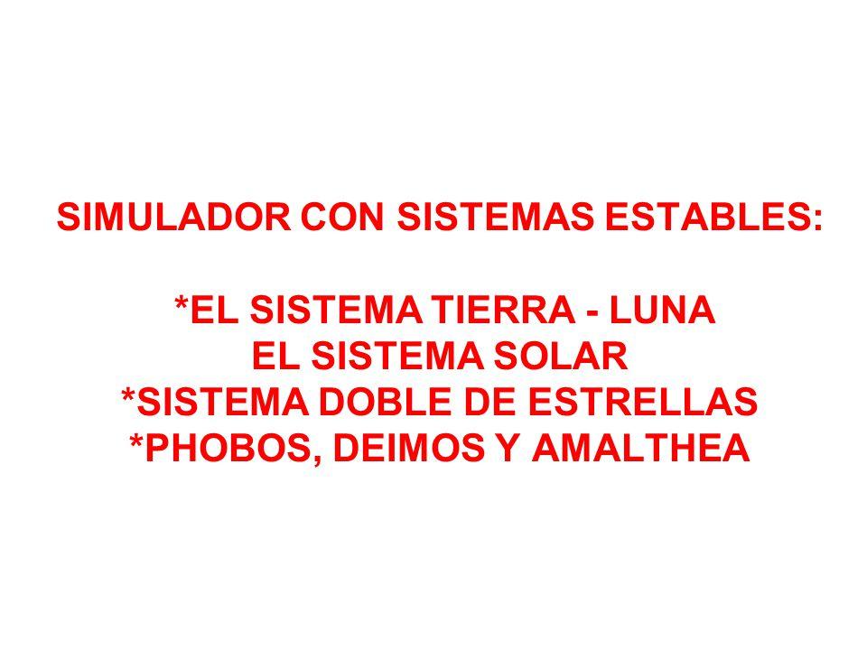 SIMULADOR CON SISTEMAS ESTABLES: