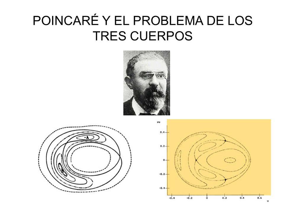 POINCARÉ Y EL PROBLEMA DE LOS TRES CUERPOS