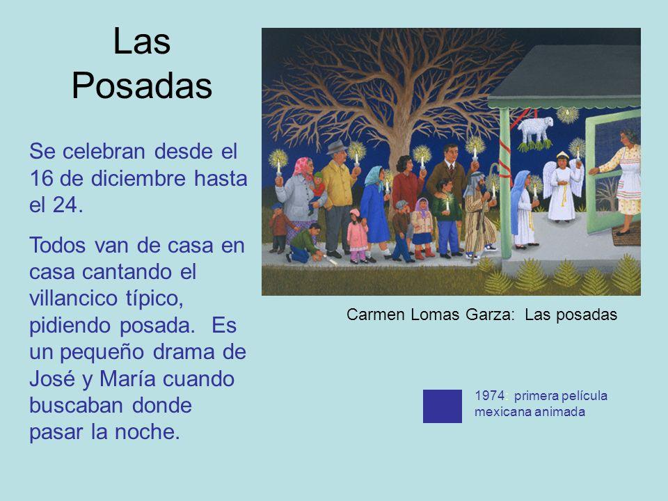 Las Posadas Se celebran desde el 16 de diciembre hasta el 24.