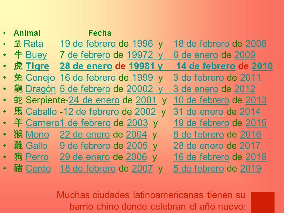 牛 Buey 7 de febrero de 19972 y 6 de enero de 2009