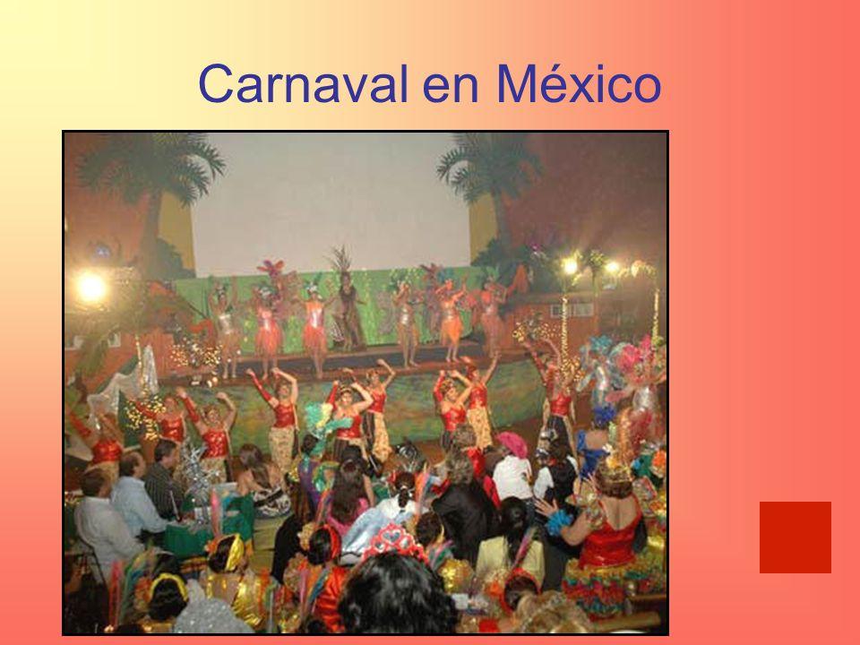 Carnaval en México