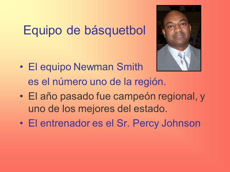 Equipo de básquetbol El equipo Newman Smith