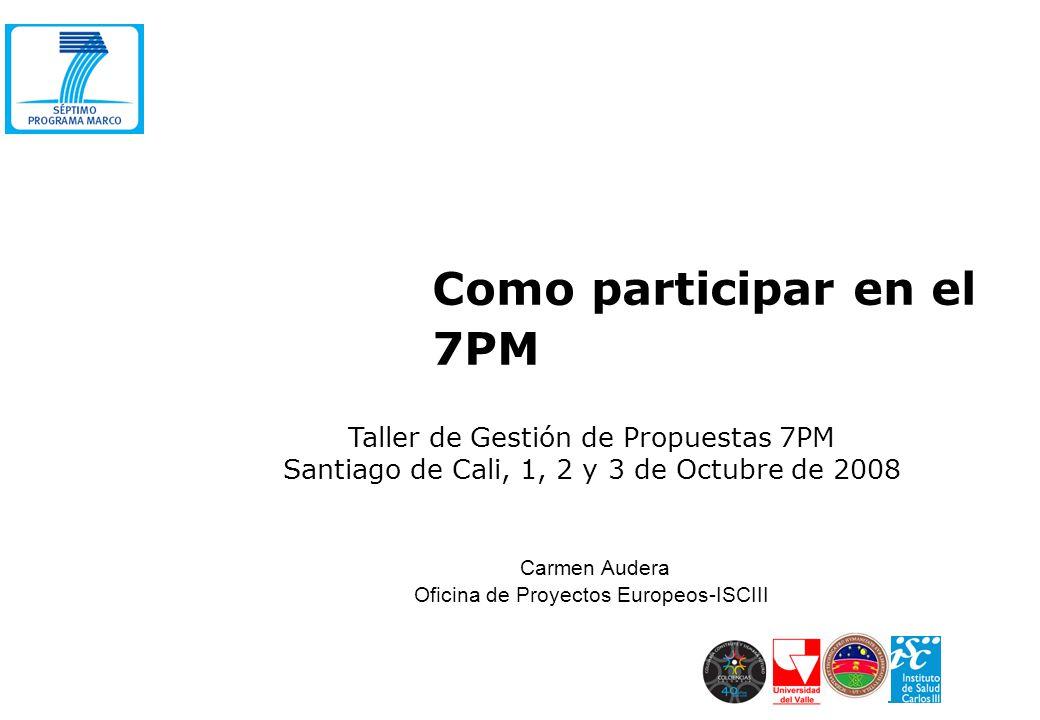 Carmen audera oficina de proyectos europeos isciii ppt for Oficina xestion de multas concello de santiago