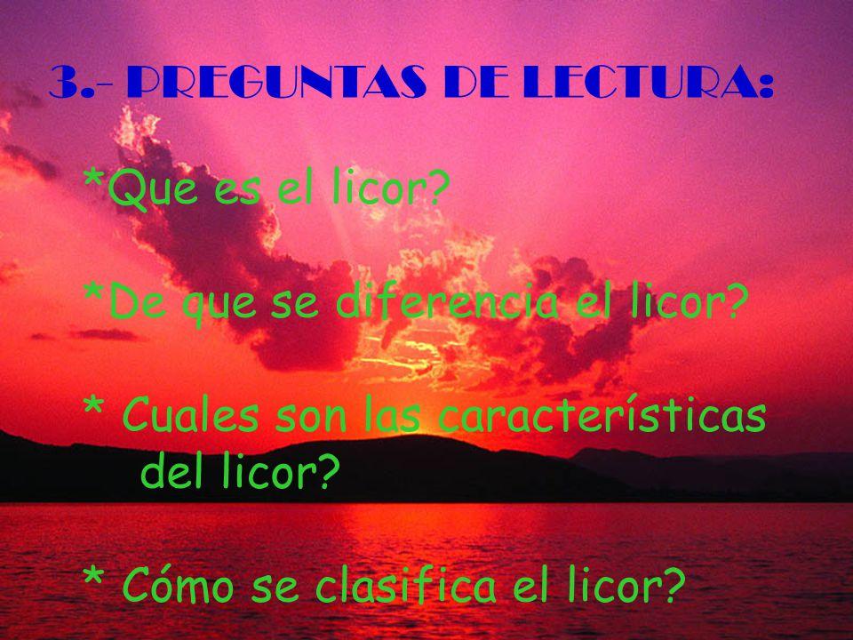 3.- PREGUNTAS DE LECTURA: