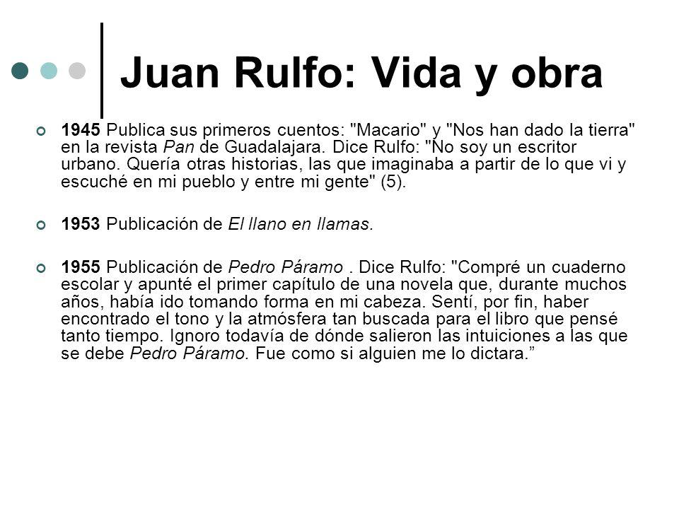 Juan Rulfo: Vida y obra