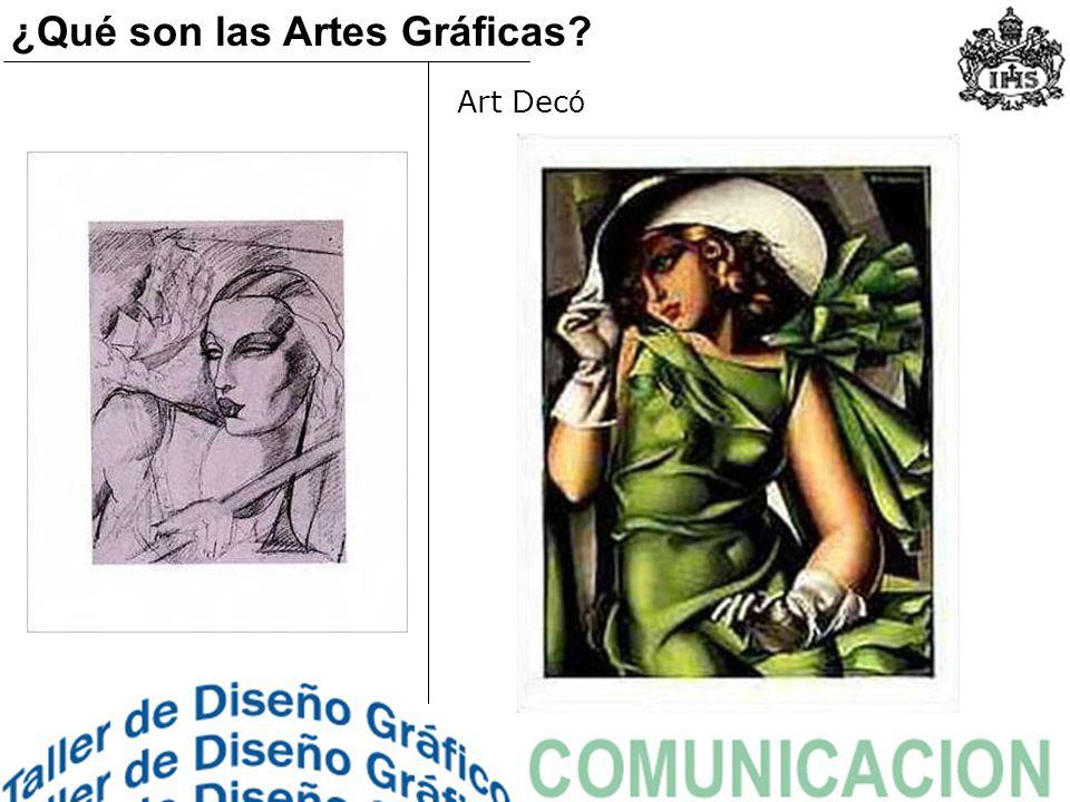 ¿Qué son las Artes Gráficas