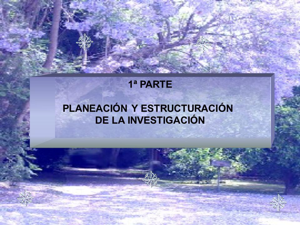 PLANEACIÓN Y ESTRUCTURACIÓN
