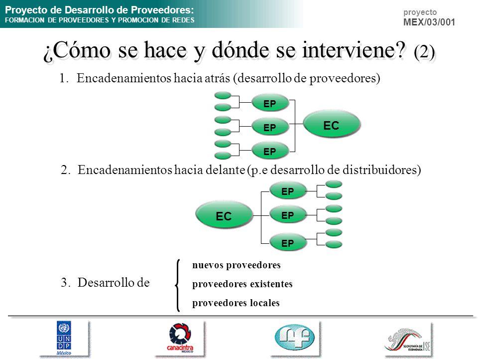 ¿Cómo se hace y dónde se interviene (2)
